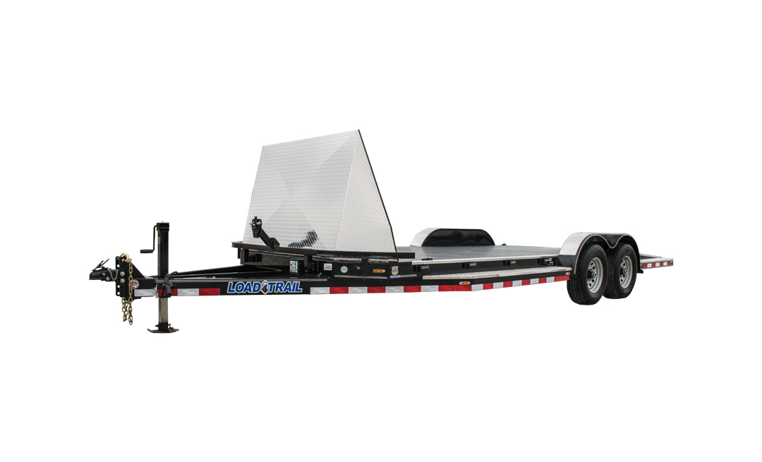 "Load Trail CZ10 - Tandem Axle Sport Hauler 9,990 Lb. 5"" Channel Frame and 45 Degree Front Corners"