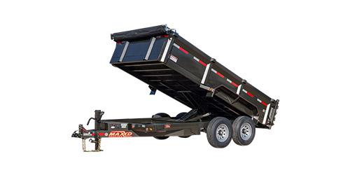"""MAXXD D8X - 83"""" Heavy Duty Dump Trailer"""