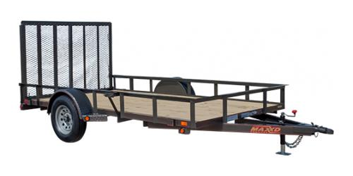 MAXXD S3X - Angle Single Axle Utility Trailer