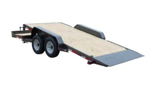 "MAXXD G6X - 6"" Gravity Equipment Tilt Trailer"