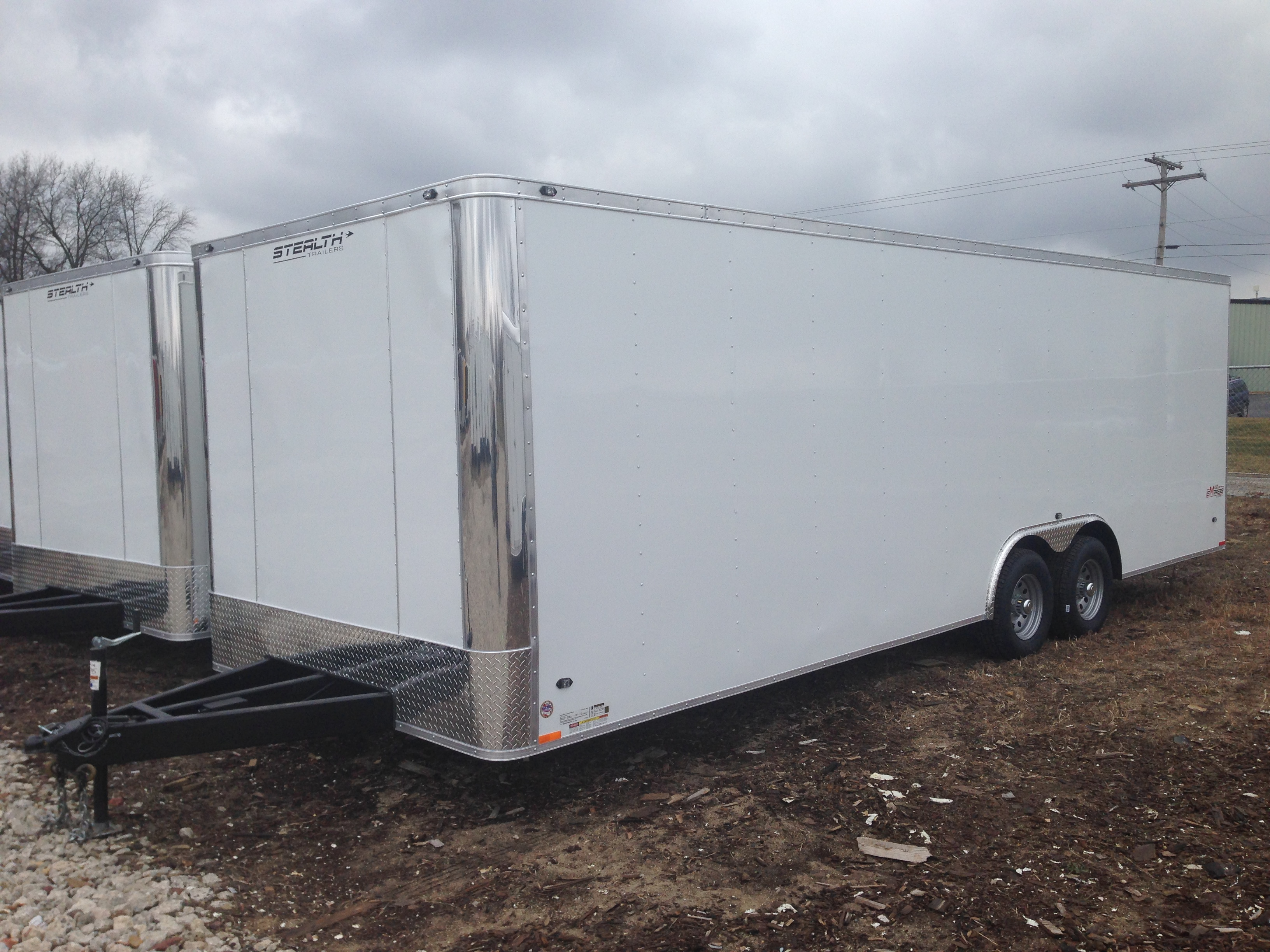 Stealth Trailers SCHE8524TA3 (Flat Top / Flat Front)