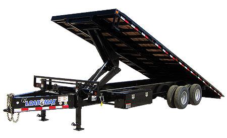 Load Trail PT30 - Pintle Hook Equipment Tilt Deck