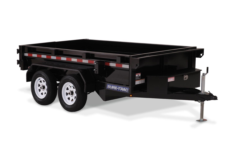 2019 Sure-Trac 62in x 10 LProfile Dump 7K Single Ram