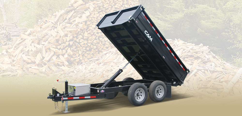 2020 Cam Superline 5 Ton Deckover Dump Trailer 6x10