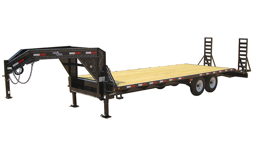 "2017 Load Trail 102"" X 28' Standard Gooseneck   2-7,000 lb Axles"