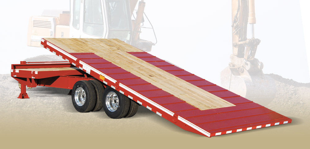 Cam Superline 20CAM825TASTT Heavy Duty Deckover Split Tilt Trailer