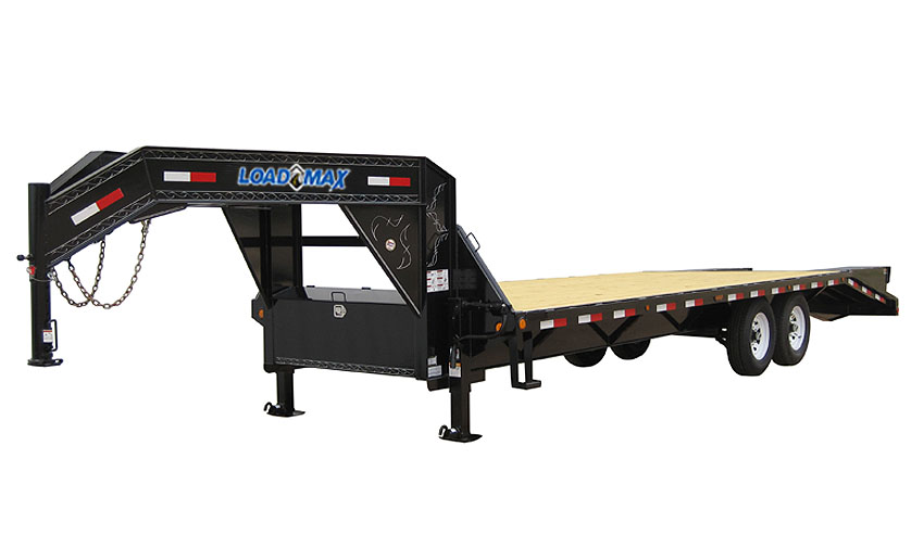 "2012 Load Trail 102"" x 26' Heavy Duty Gooseneck 2-8000 lb Axle"