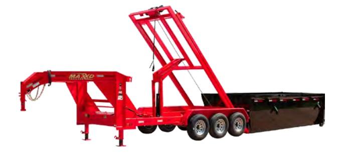 MAXXD RPX - 21K Roll-Off Dump Trailer