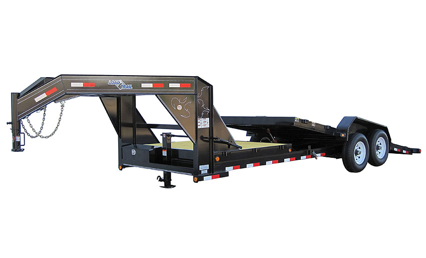 "Load Trail GT10 - Gooseneck Tilt Deck Power Up & Down 81.5"" x 24"