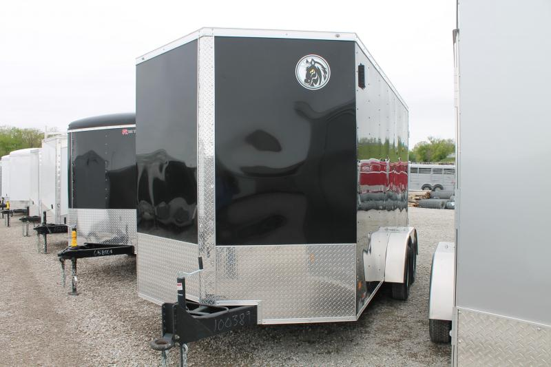 2020 Darkhorse Cargo 7'X14' + 12 Enclosed Cargo Trailer