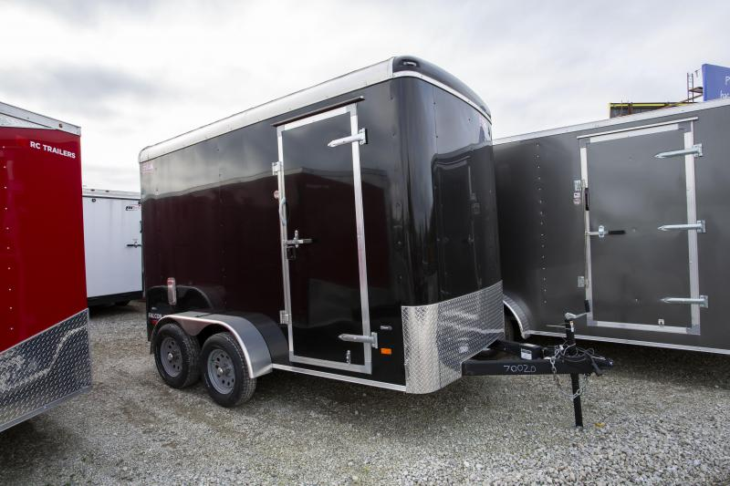 2019 American Hauler 6 x 12 Tandem Axle 7 ft Tall Enclosed Cargo Trailer