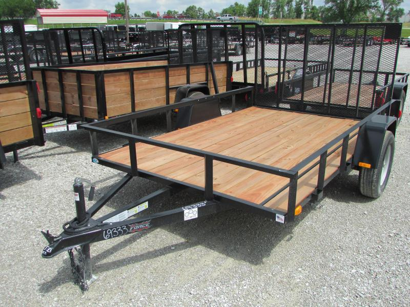 "2020 Forest River 6'6""X10' Force Utility Trailer"