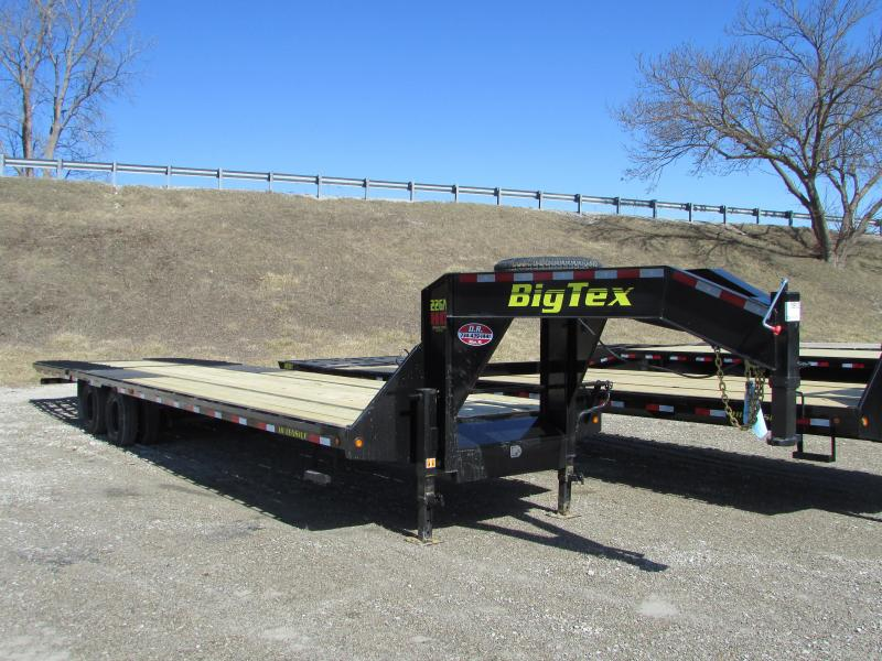 Big Tex Trailers 35ft Equipment Flatbed Trailer
