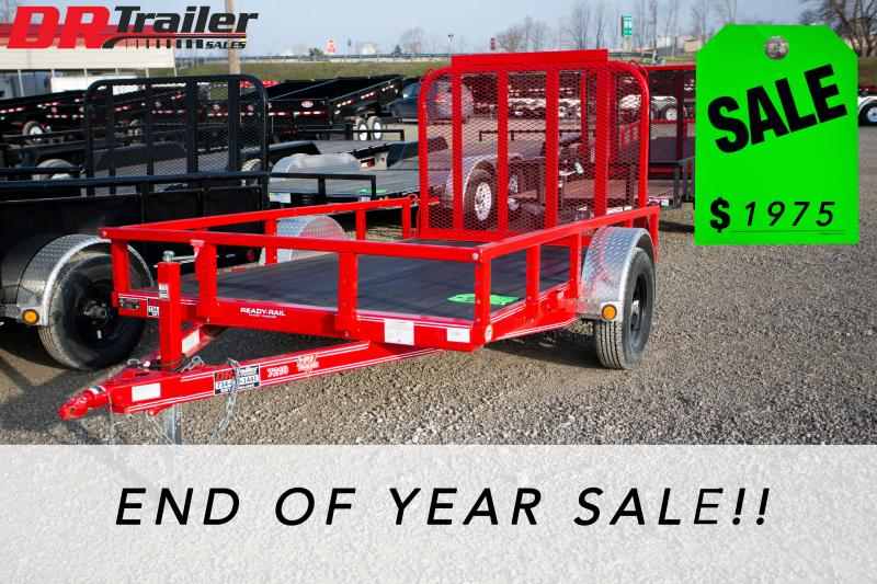 2018 PJ Trailers 6 ft X 10 ft Equipment Trailer