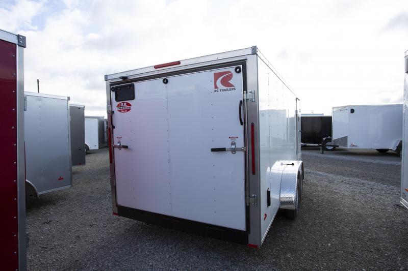 2020 RC Trailers 7 X 18 Ramp Enclosed Cargo Trailer