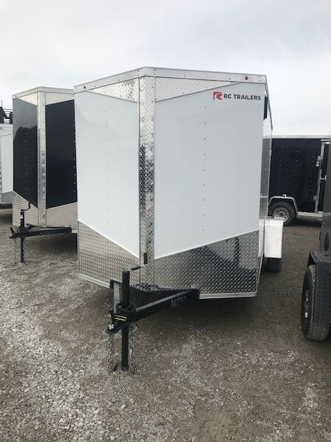 2020 RC Trailers 6' x 12' DD Enclosed Cargo Trailer