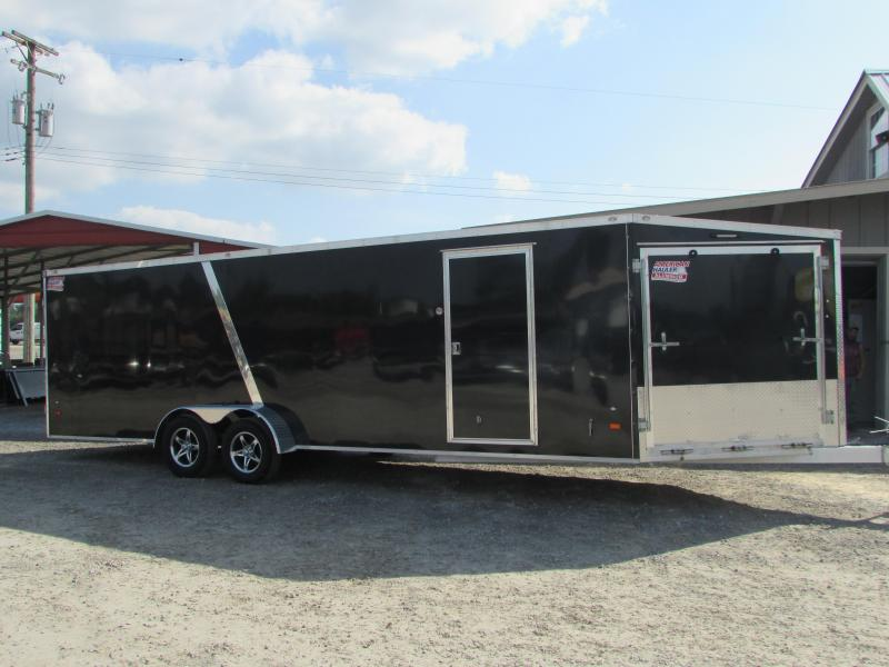 2019 American Hauler Industries 7x29 Aluminum 4 Place Snowmobile Trailer