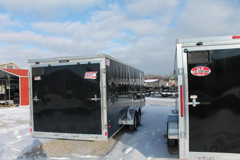 American Hauler Industries 7x29 Aluminum 4 Place Snowmobile Trailer