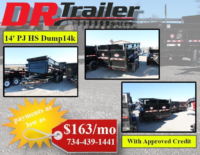 2020 PJ Trailers 14' DM 14K Dump Trailer