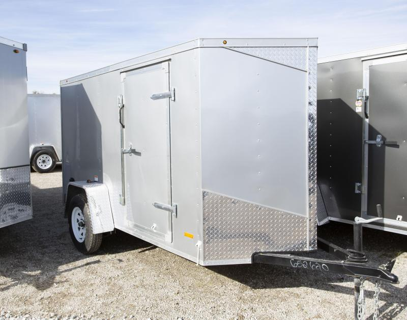 2020 RC Trailers 5 X 10 Ramp Enclosed Cargo Trailer