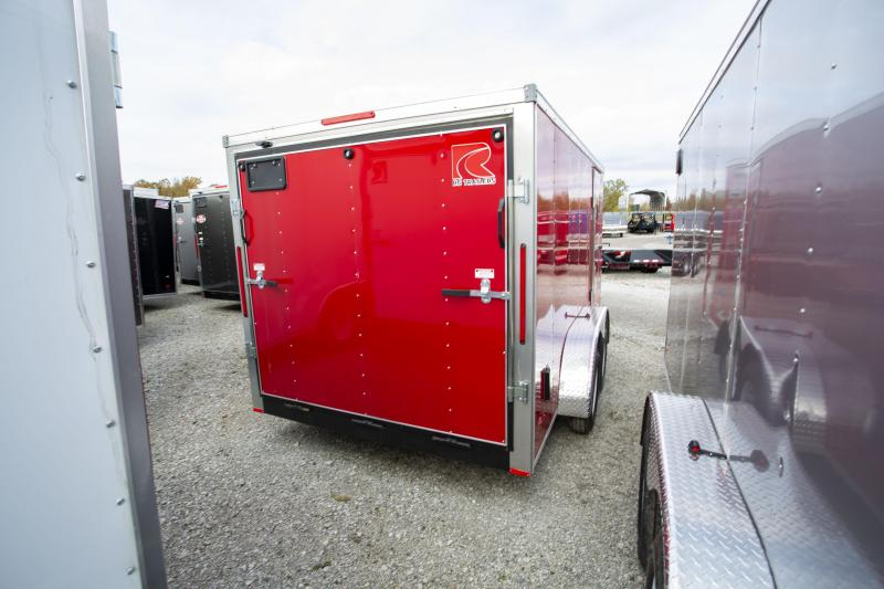 2020 RC Trailers 7 x 14 ft Enclosed Cargo Trailer