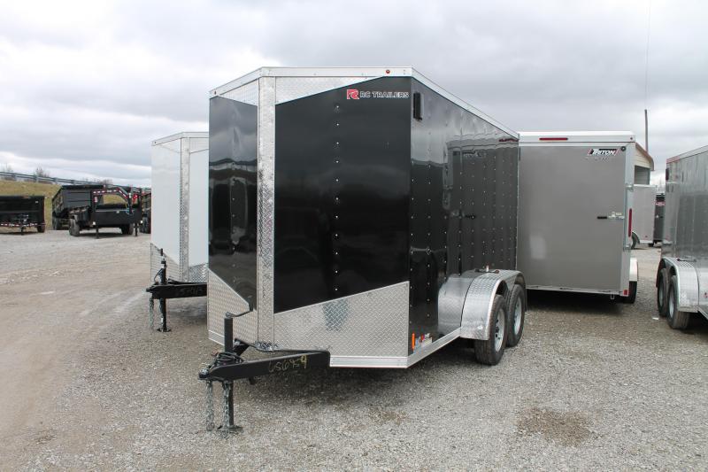 2020 RC Trailers 6'x12' TA RD Enclosed Cargo Trailer