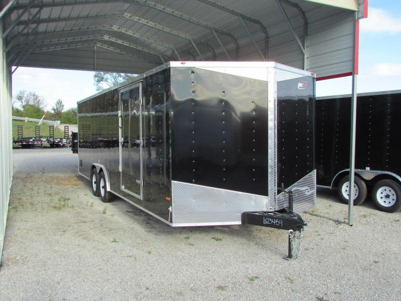RC Trailers 24' Carhauler Cargo / Enclosed Trailer