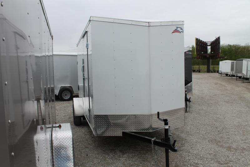 2020 American Hauler 6'X12' RD Enclosed Cargo Trailer