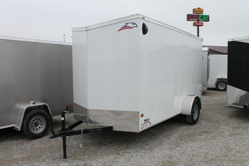 2020 American Hauler 6'X12' RD Enclosed Cargo Trailer
