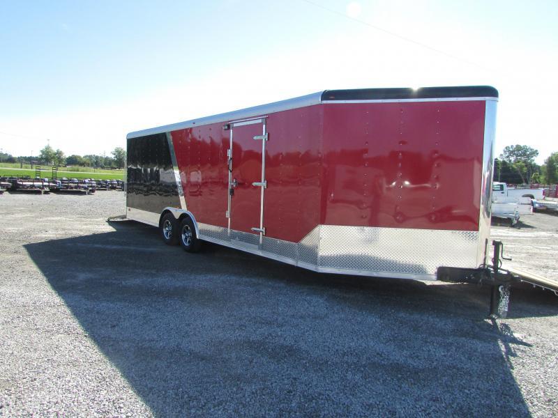2019 RC Trailers 27 Auto/Snowmobile Combo Enclosed Cargo Trailer