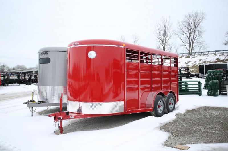 2020 Calico Trailers 16' Stock Livestock Trailer