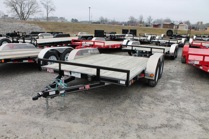 2018 PJ Trailers 12' TA CAR Car / Racing Trailer