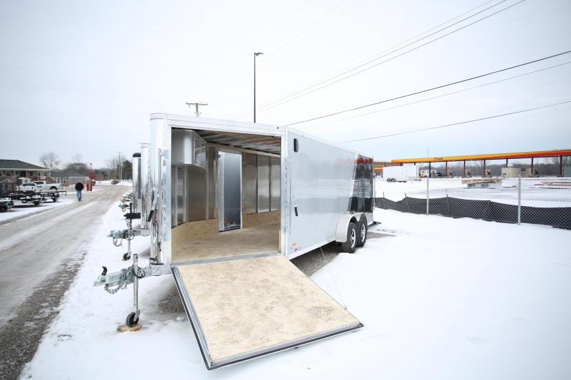 2020 RC Trailers 7x23 Snowmobile Trailer