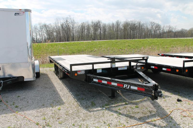 2020 PJ Trailers 20' DO 14K Flatbed Trailer