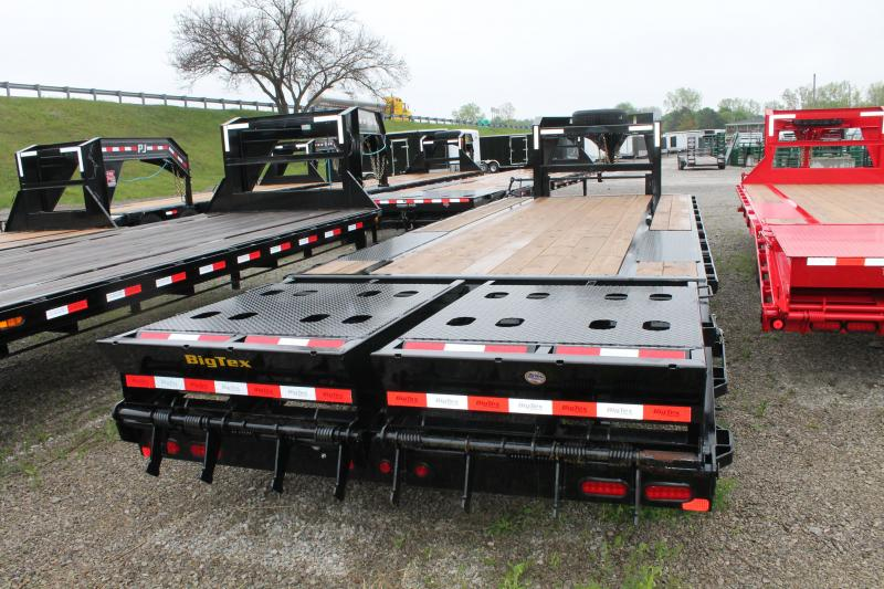2020 Big Tex Trailers 25' MR GOOSENECK 15K Flatbed Trailer