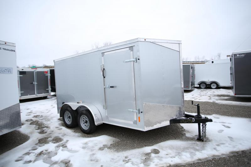 2020 RC Trailers 7 x 12 Ramp Door Enclosed Cargo Trailer