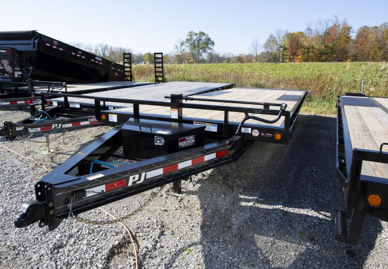 2020 PJ Trailers 22ft Tilt Equipment Trailer