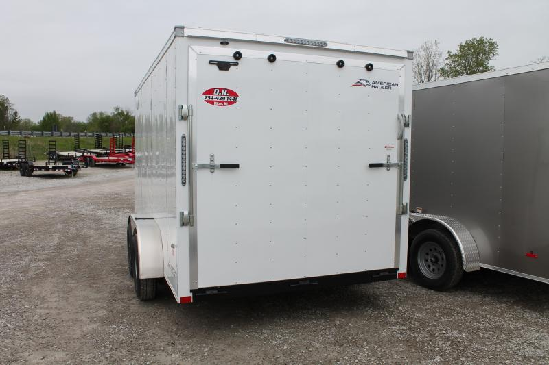2020 American Hauler 7'X14' RD Enclosed Cargo Trailer