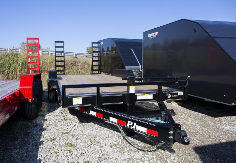 PJ Trailers 20 ft Equipment Trailer