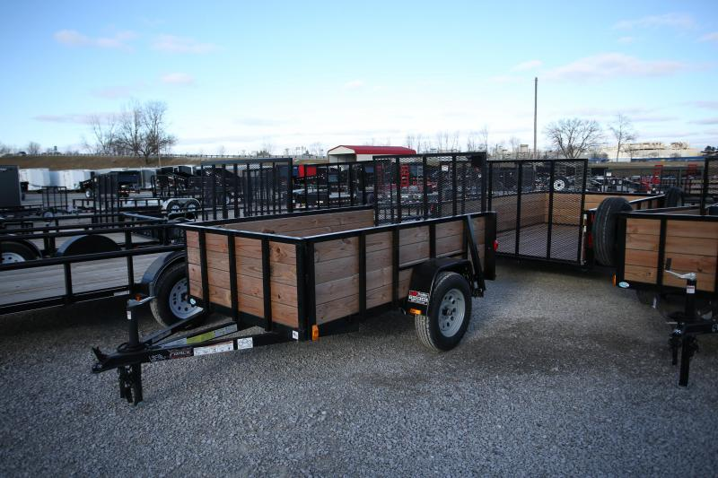 2019 Forest River 5x10 Wood Side Utility Trailer