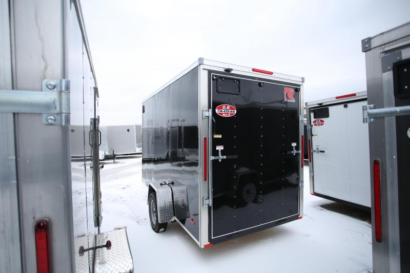 NEW RC Trailers 6 x 12 + 12in Height Enclosed Cargo Trailer