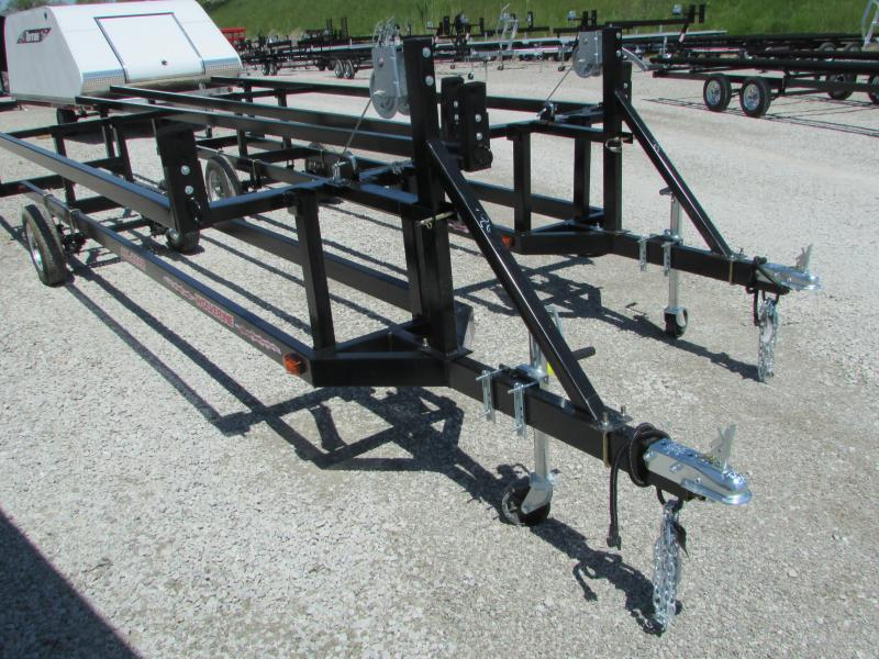 Wolverine Trailers 20 Crank Up Pontoon Boat Trailer