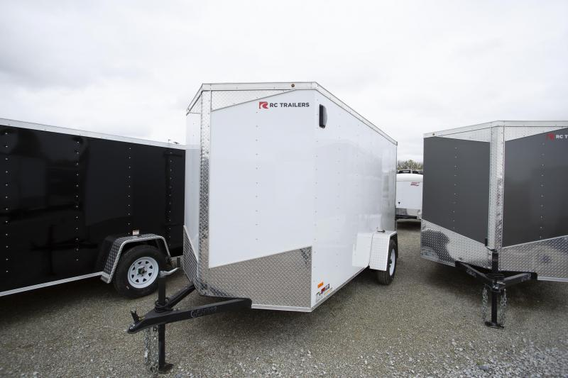 2020 RC Trailer 6 x 12 Ramp Enclosed Cargo Trailer