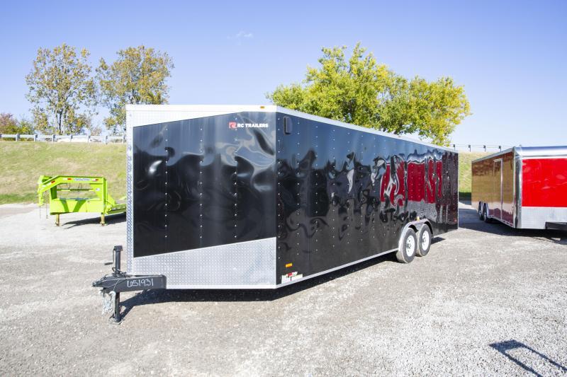 2019 RC Trailers 8.5 x 28 Tandem Axle Enclosed Cargo Trailer