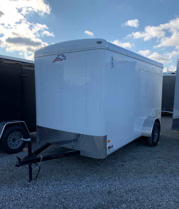 2019 American Hauler 6 x 12 Enclosed Cargo Trailer