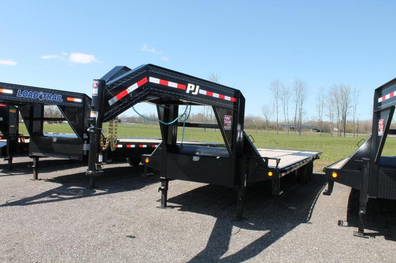 2020 PJ Trailers 32' LY 25K Flatbed Trailer