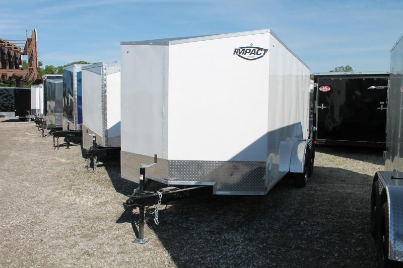 2021 Impact Trailers 7'X14' RD Enclosed Cargo Trailer