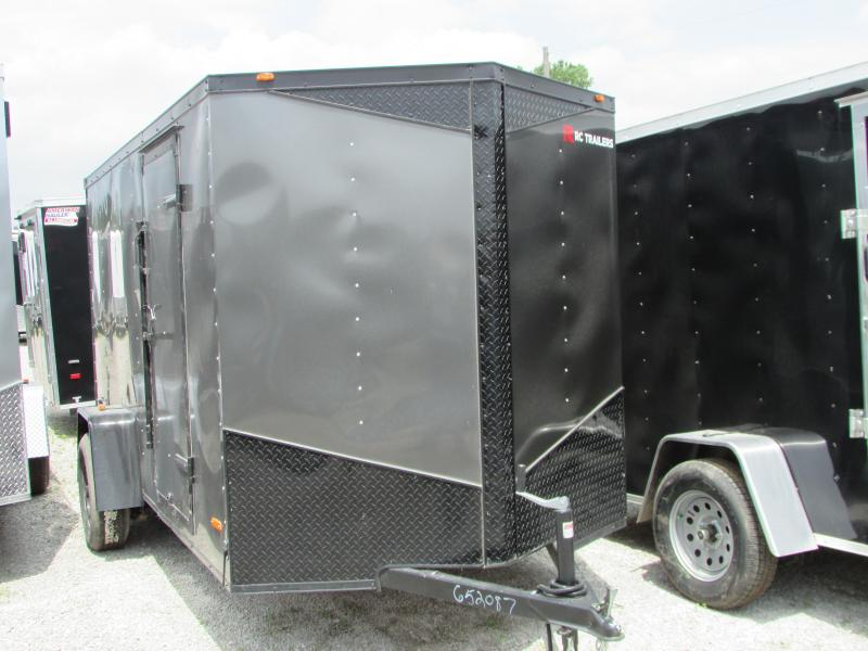 2019 RC Trailers 6 x 12 Black Out Series Enclosed Cargo Trailer