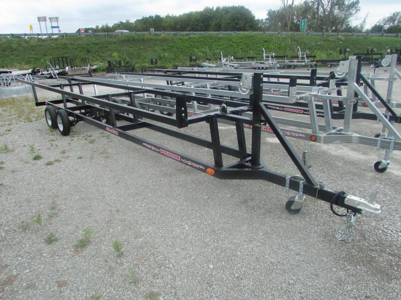 Wolverine Trailers 24 Crank Up Pontoon Boat Trailer