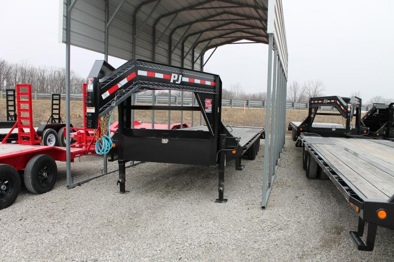 2020 PJ Trailers 30' MR 21K Flatbed Trailer